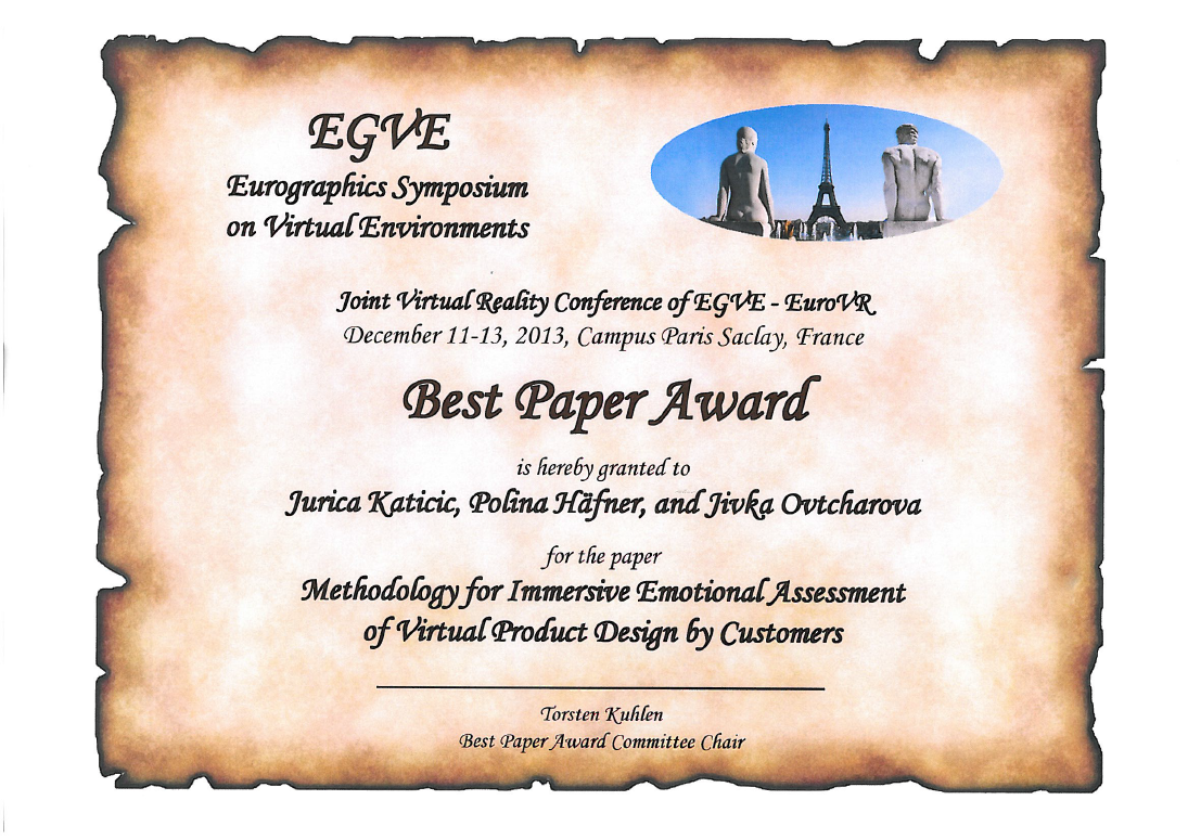 kit news archive 2013 imi wins best paper award at jvrc 2013